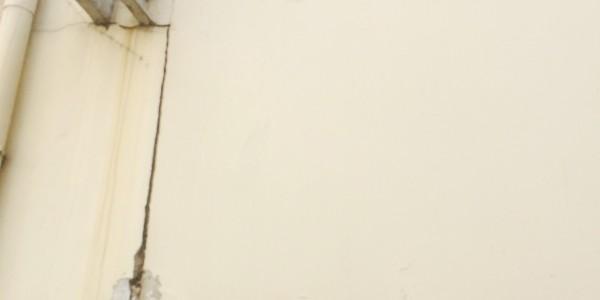porche d'immeuble affaissé sinistre sécheresse Meaux 77