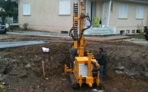 forage micropieux pour construction d'une villa2